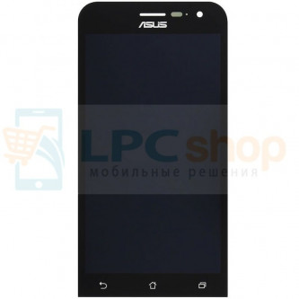 Дисплей для Asus ZenFone 2 (ZE500CL) в сборе с тачскрином Черный