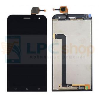 Дисплей для Asus ZenFone 2 Laser (ZE500KL / ZE500KG) в сборе с тачскрином Черный