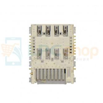 Коннектор SIM-Карты Samsung G800H / G800F