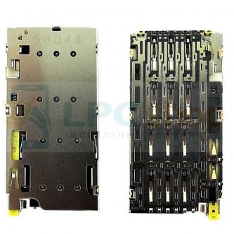 Коннектор SIM-Карты Sony E6683 (Z5 Dual)