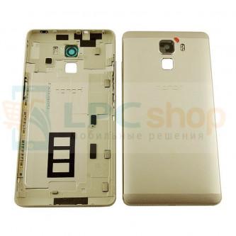 Крышка(задняя) Huawei Honor 7 Золотая