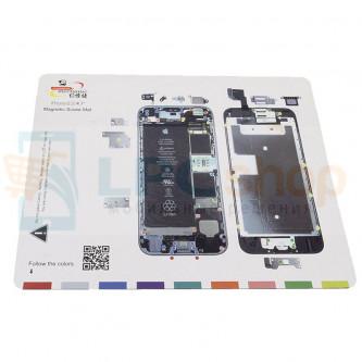 Магнитный коврик (Screw Magnetic mat) для iPhone 6S