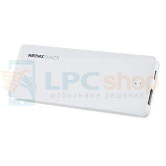 Дополнительный аккумулятор (Power Bank) Remax Candy bar 5000 mAh (1 USB 1500mAh) Белый (RM1-012)