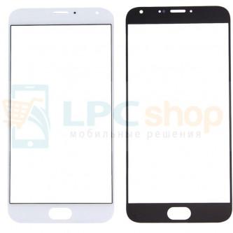 Стекло (для переклейки) Meizu MX5 Белое