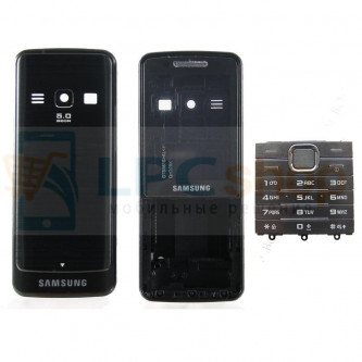 Корпус Samsung S5610 / S5611 Черный + стекло и клавиатура