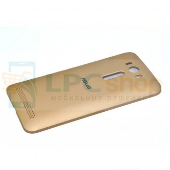 Крышка(задняя) Asus ZE500KL (ZenFone 2 Laser) Золото - без NFC