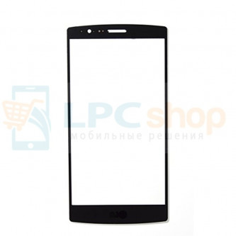 Стекло (для переклейки) LG G4s H736 Черное