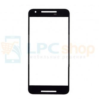 Стекло (для переклейки) LG Nexus 5X H791 Черное