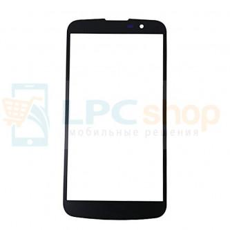 Стекло (для переклейки) LG K10 K410 / K10 LTE K430DS Черное