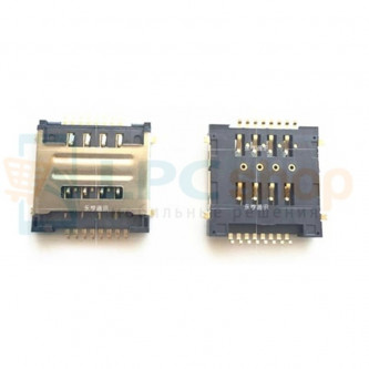 Коннектор SIM-Карты Lenovo S660 / A690