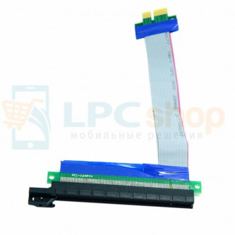 Райзер для видеокарт PCI-E 1x to 16x 20 см переходник-удлинитель