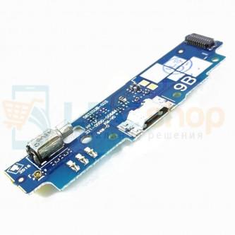 Шлейф разъема зарядки Asus ZB452KG (ZenFone Go) (плата) и микрофона