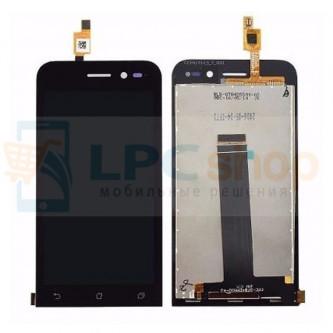 Дисплей для Asus ZB450KL (Zenfone Go) в сборе с тачскрином Черный