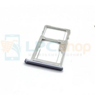 Лоток SIM Meizu M3s mini Серый