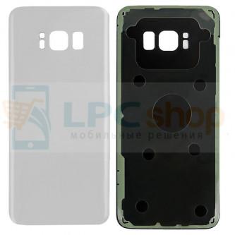 Крышка(задняя) Samsung Galaxy S8+ (Plus) G955F Серебро