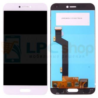 Дисплей для Xiaomi Mi5C в сборе с тачскрином Белый