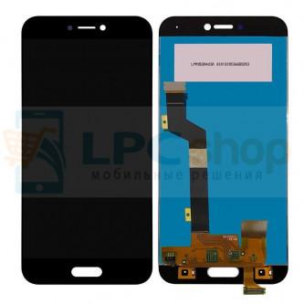Дисплей для Xiaomi Mi5C в сборе с тачскрином Черный