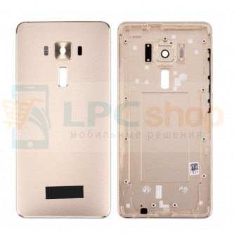 Крышка(задняя) Asus ZS570KL (ZenFone 3 Deluxe) Золото