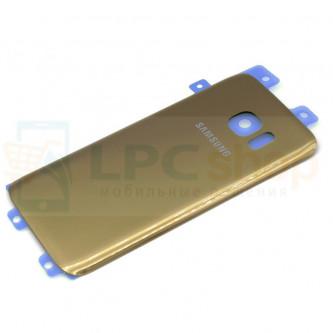 Крышка(задняя) Samsung Galaxy S7 G930F Золотая