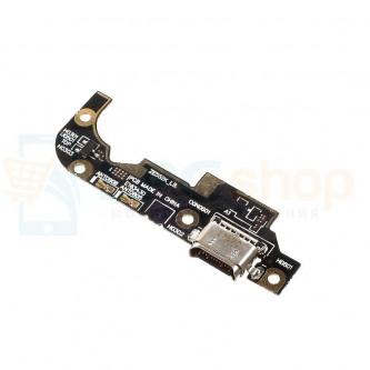 Шлейф разъема зарядки Asus ZE552KL (ZenFone 3) (плата) и микрофон
