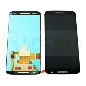 Дисплей для Motorola Moto X Play  в сборе с тачскрином  Черный