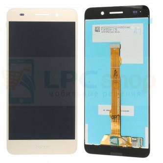 Дисплей для Huawei Y6 II в сборе с тачскрином Золото