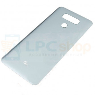 Крышка(задняя) LG H870DS (G6) Серебро
