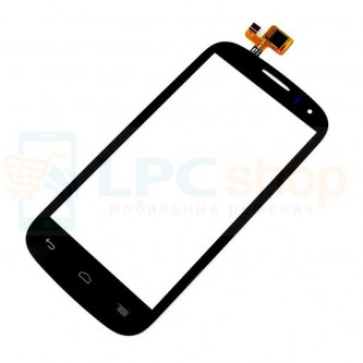 Тачскрин (сенсор) для Alcatel OT-5036D (Pop C5) Черный