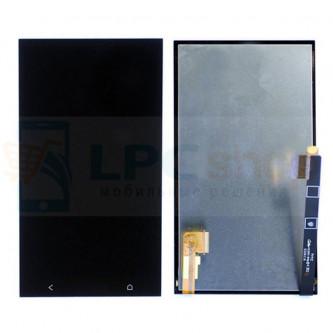 Дисплей для HTC One Dual 802w в сборе с тачскрином Черный
