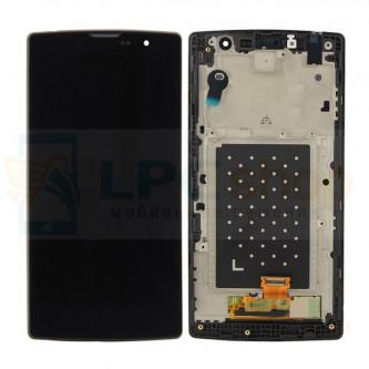 Дисплей для LG Magna H502 в сборе с рамкой Черный