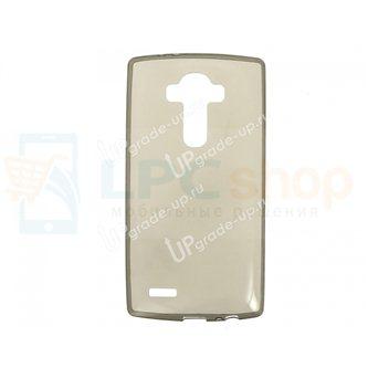 Силиконовый чехол(TPU) для LG G4 H818 0.5mm Серый глянцевый