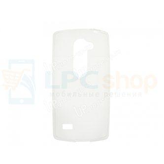 Силиконовый чехол(TPU) для LG Leon / H324 / H340 0.5mm Прозрачный глянцевый