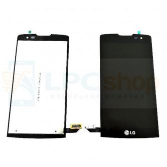 Дисплей для LG Leon H324 в сборе с тачскрином Черный