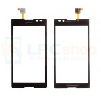 Тачскрин (сенсор) для Sony Xperia C (C2305) Черный