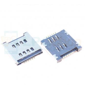 Коннектор SIM-Карты LG E455 / E615 / P715 / T370 / T375 / D686 / L80 Dual D380 / D325