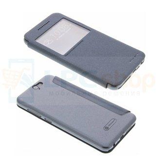 "Чехол-книжка Nillkin ""Sparkle"" для HTC One A9 - Черный"