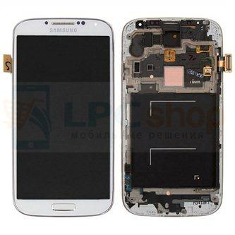 Дисплей для Samsung Galaxy S4 I9500 в сборе с рамкой Белый