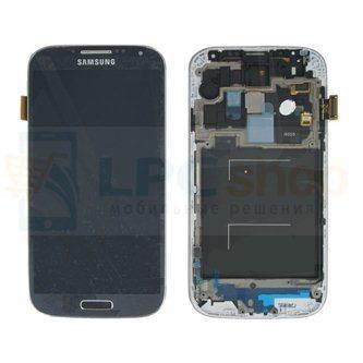 Дисплей для Samsung Galaxy S4 I9505 в сборе с рамкой Черный