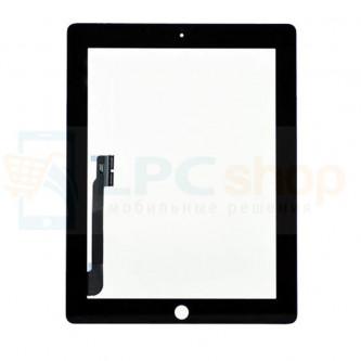 Тачскрин (сенсор) для iPad 3 / 4 Черный - AA