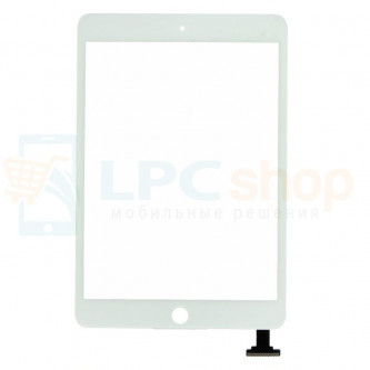 Тачскрин (сенсор) для iPad mini / mini 2 Retina Белый (требуется пайка)