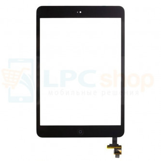 Тачскрин (сенсор) для iPad mini / mini 2 Retina В СБОРЕ Черный