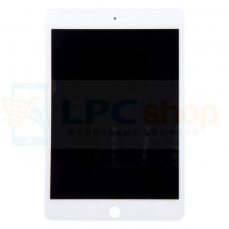 Дисплей для iPad Mini 4 в сборе с тачскрином Белый