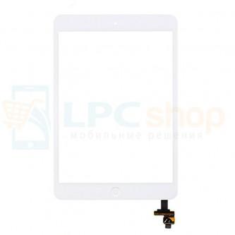 Тачскрин (сенсор) для iPad mini/mini 2 Retina В СБОРЕ Белый - Оригинал