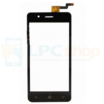 Тачскрин (сенсор) для Micromax Q424 Bolt Selfie Черный