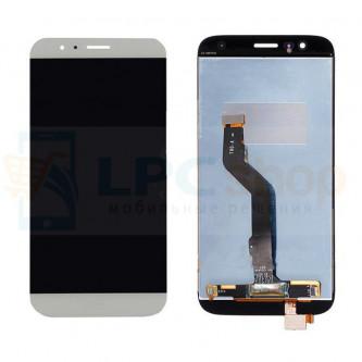 Дисплей для Huawei G8 в сборе с тачскрином Белый