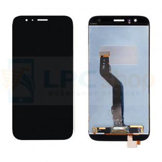 Дисплей для Huawei G8 в сборе с тачскрином Золото