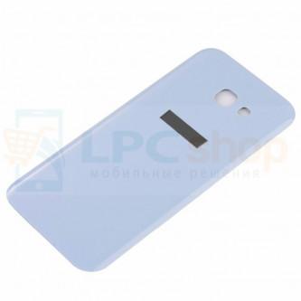 Крышка(задняя) Samsung Galaxy A5 (2017) A520F Синяя