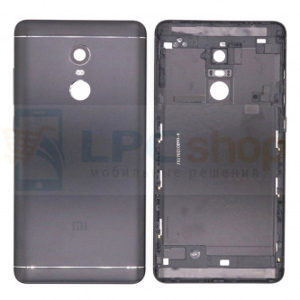 Крышка(задняя) Xiaomi Redmi Note 4X Черная