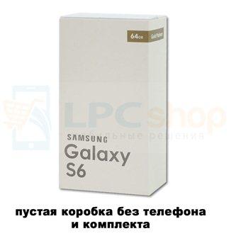 Коробка для Samsung G920 Galaxy S6 Золотая