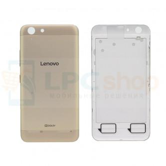 Крышка(задняя) Lenovo Vibe K5 / K5 Plus Золото
